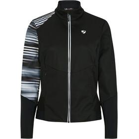 Ziener Nuretta Active Jacket Women, negro/blanco